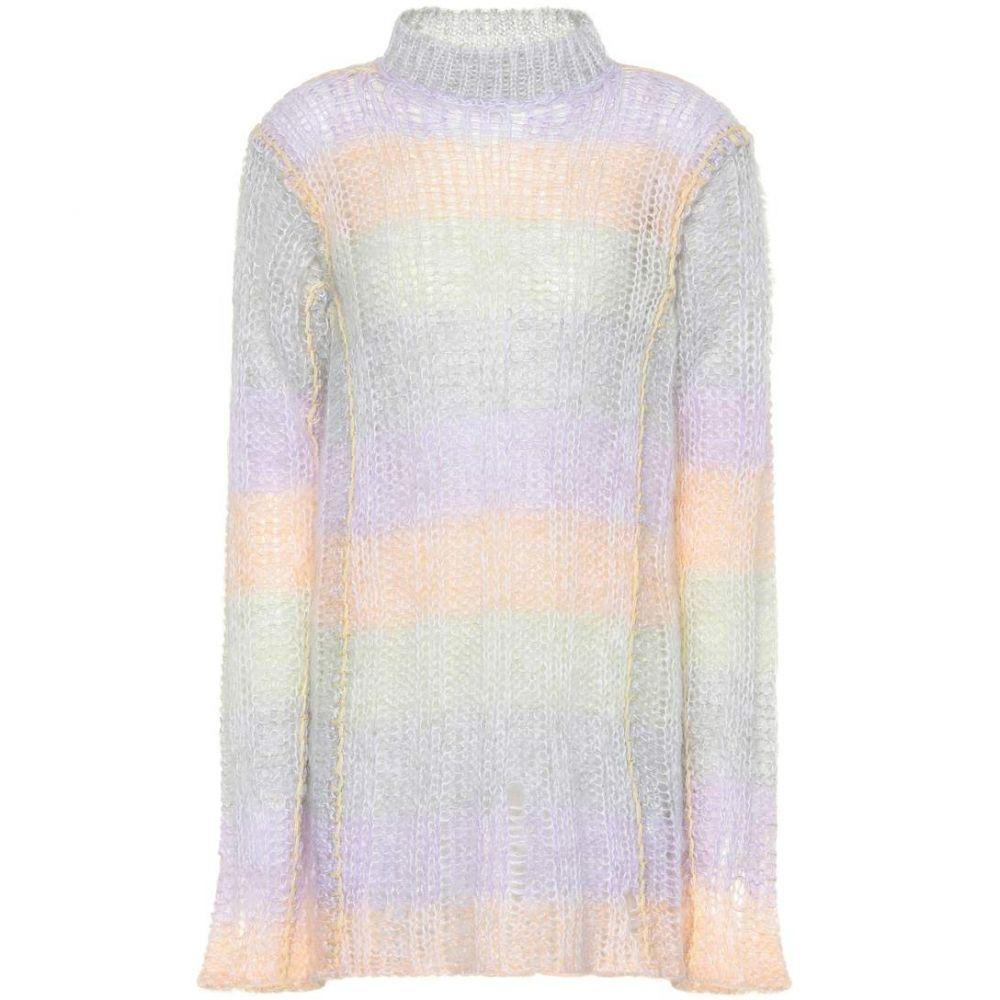 アクネ ストゥディオズ Acne Studios レディース トップス ニット・セーター【Mohair-blend sweater】lilac / multi