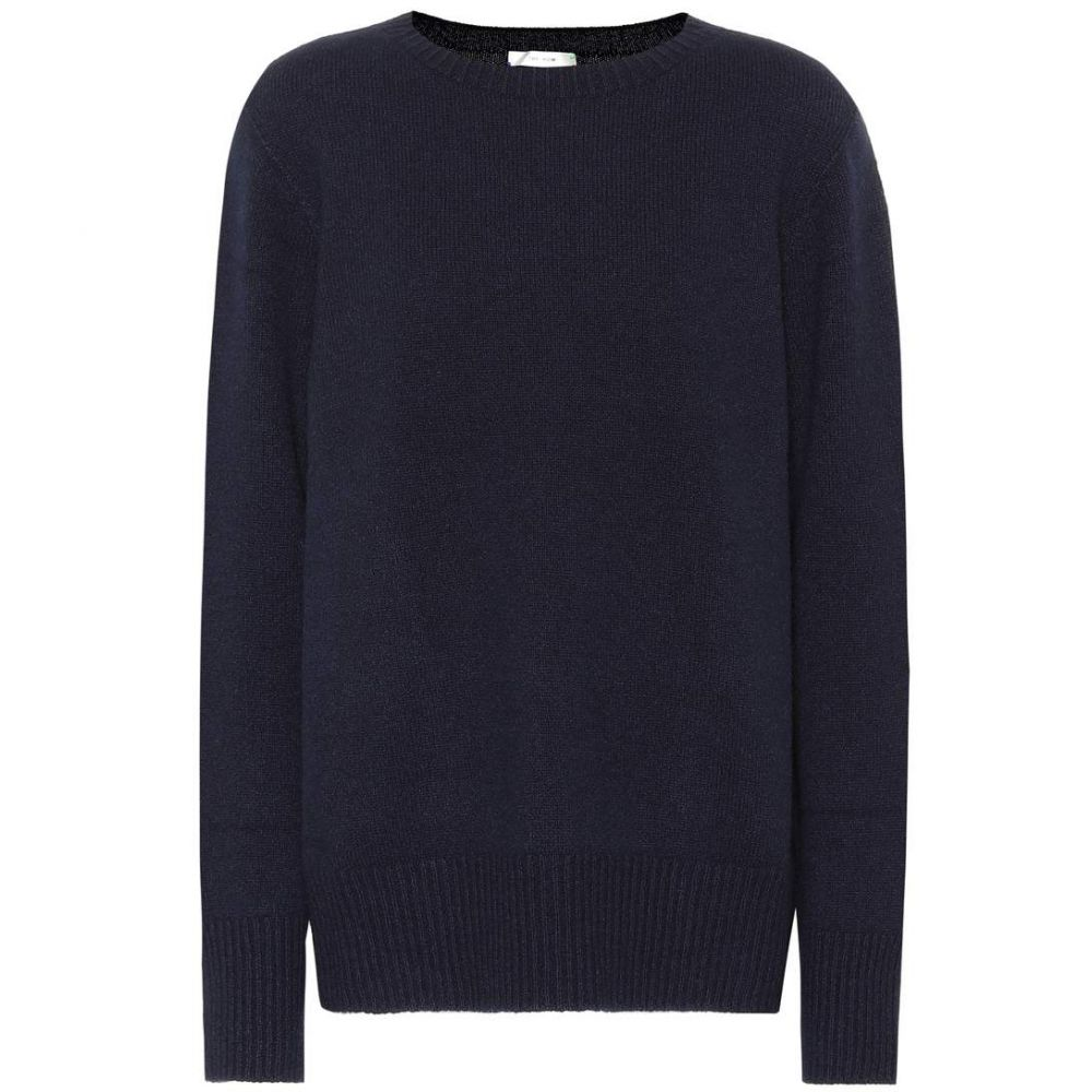 ザ ロウ The Row レディース トップス ニット・セーター【Sibel wool and cashmere sweater】Dark Navy