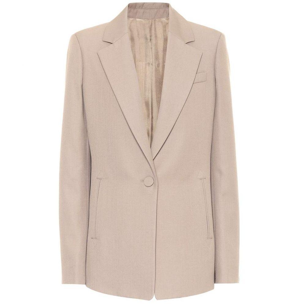 ジョゼフ Joseph レディース アウター スーツ・ジャケット【Wool-blend blazer】Fawn
