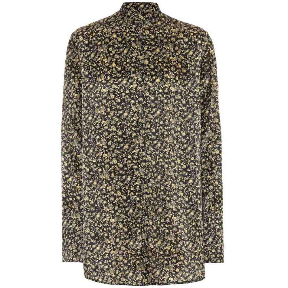 ヴィクトリア ベッカム Victoria Victoria Beckham レディース トップス ブラウス・シャツ【Printed shirt】Ditsy Flower Lemon