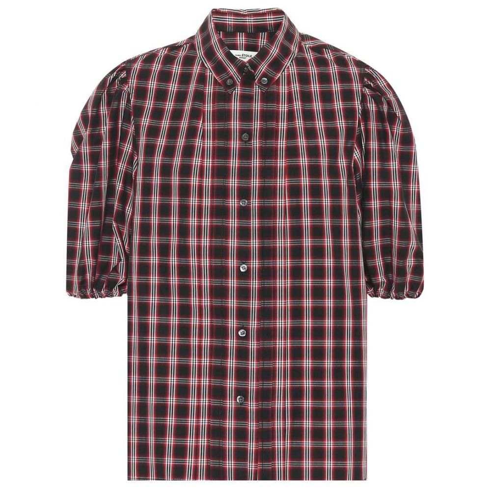 イザベル マラン Isabel Marant, Etoile レディース トップス ブラウス・シャツ【Orem checked cotton shirt】Black