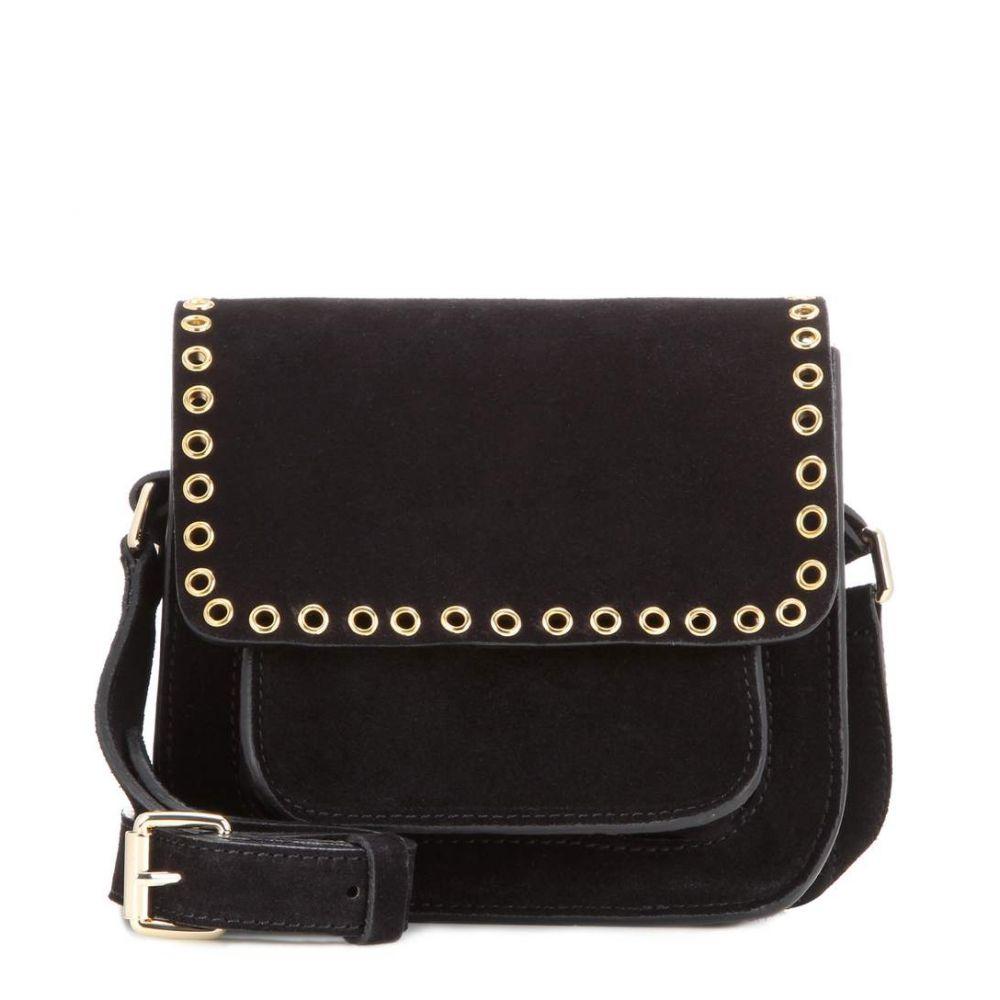 イザベル マラン Isabel Marant, Etoile レディース バッグ ショルダーバッグ【Marfa embellished suede crossbody bag】Black