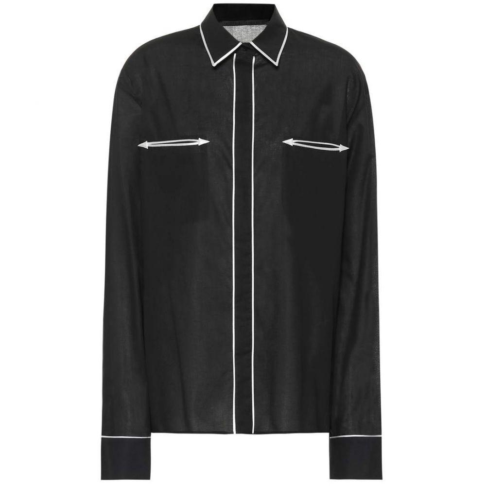 ハイダー アッカーマン Haider Ackermann レディース トップス ブラウス・シャツ【Piped cotton shirt】