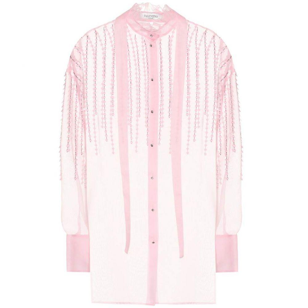 ヴァレンティノ Valentino レディース トップス ブラウス・シャツ【Silk organza blouse】
