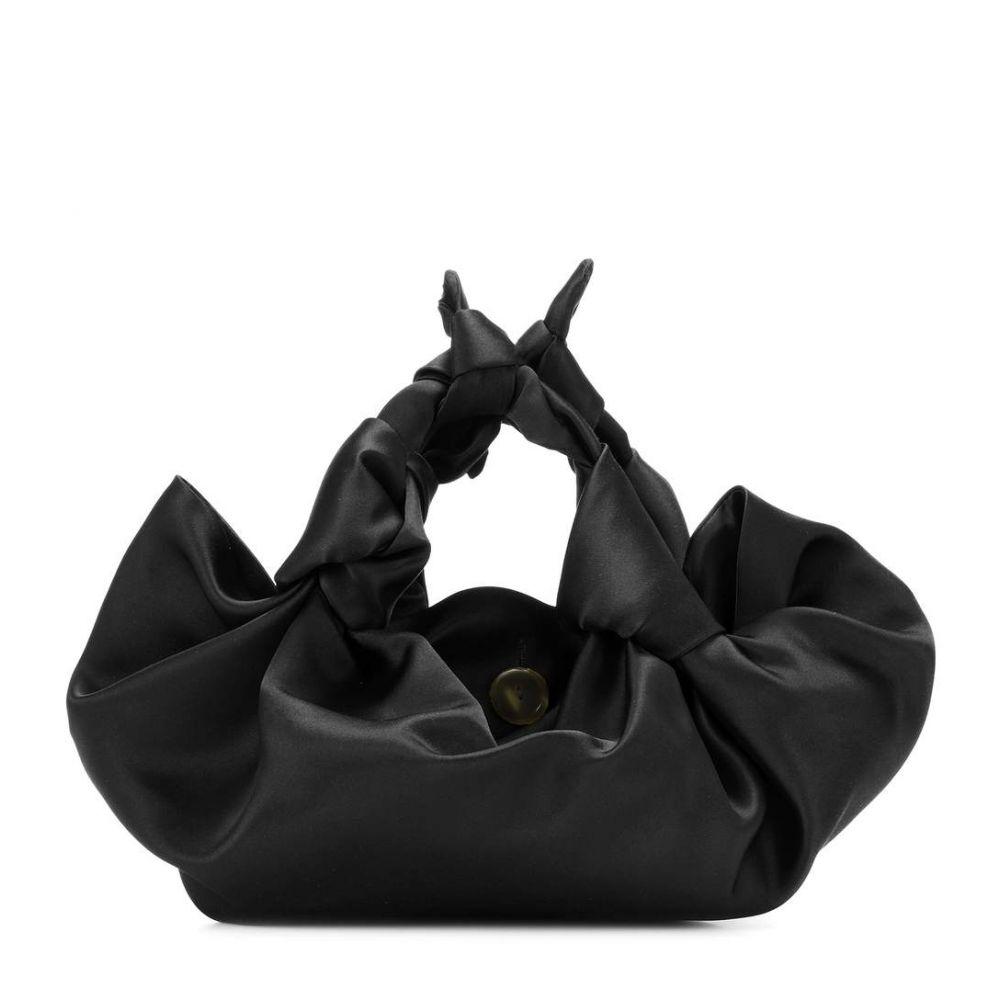 ザ ロウ The satin Row レディース バッグ ロウ クラッチバッグ【The Row Ascot satin clutch】Black, carro(デザイン雑貨カロ):d6ac38a3 --- sunward.msk.ru