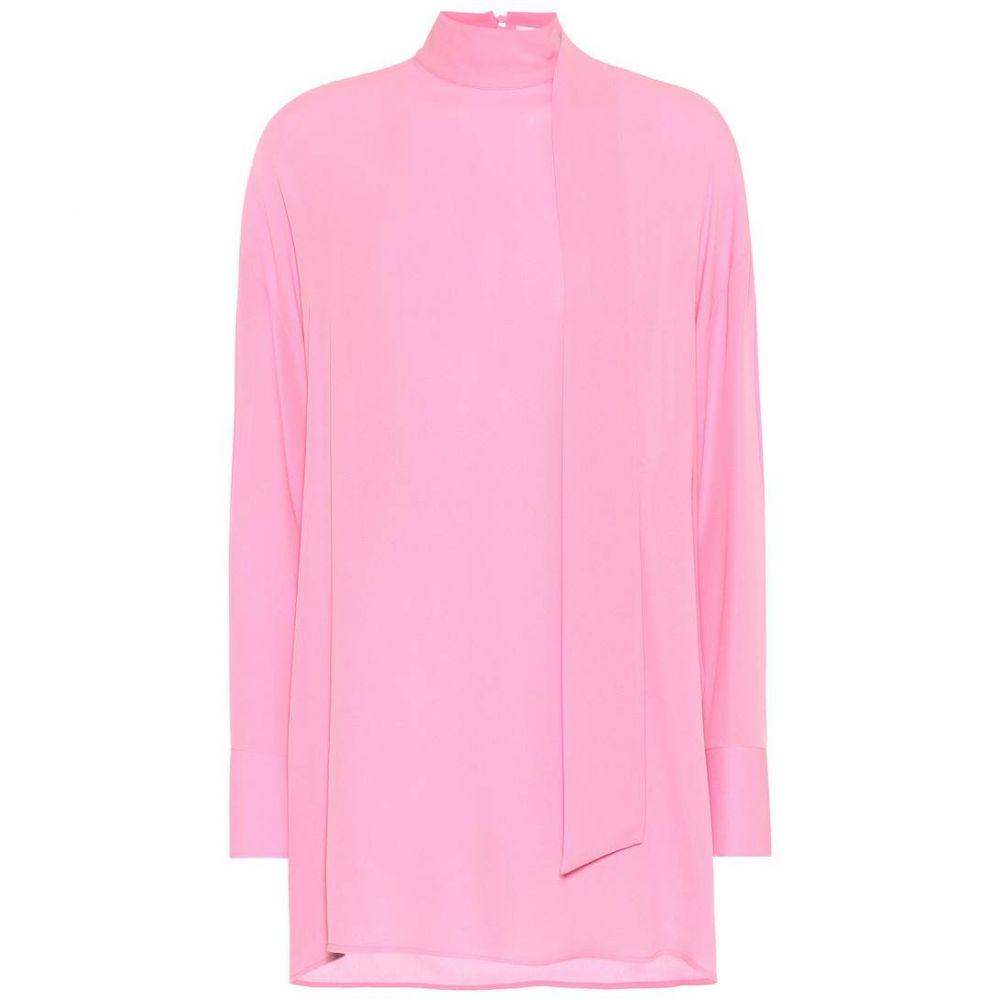 ヴァレンティノ Valentino レディース トップス ブラウス・シャツ【Mockneck silk blouse】