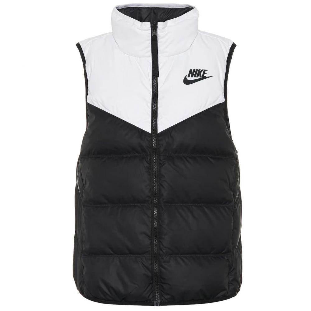 トップス black down vest】white ナイキ Nike レディース ベスト・ジレ【Sportswear