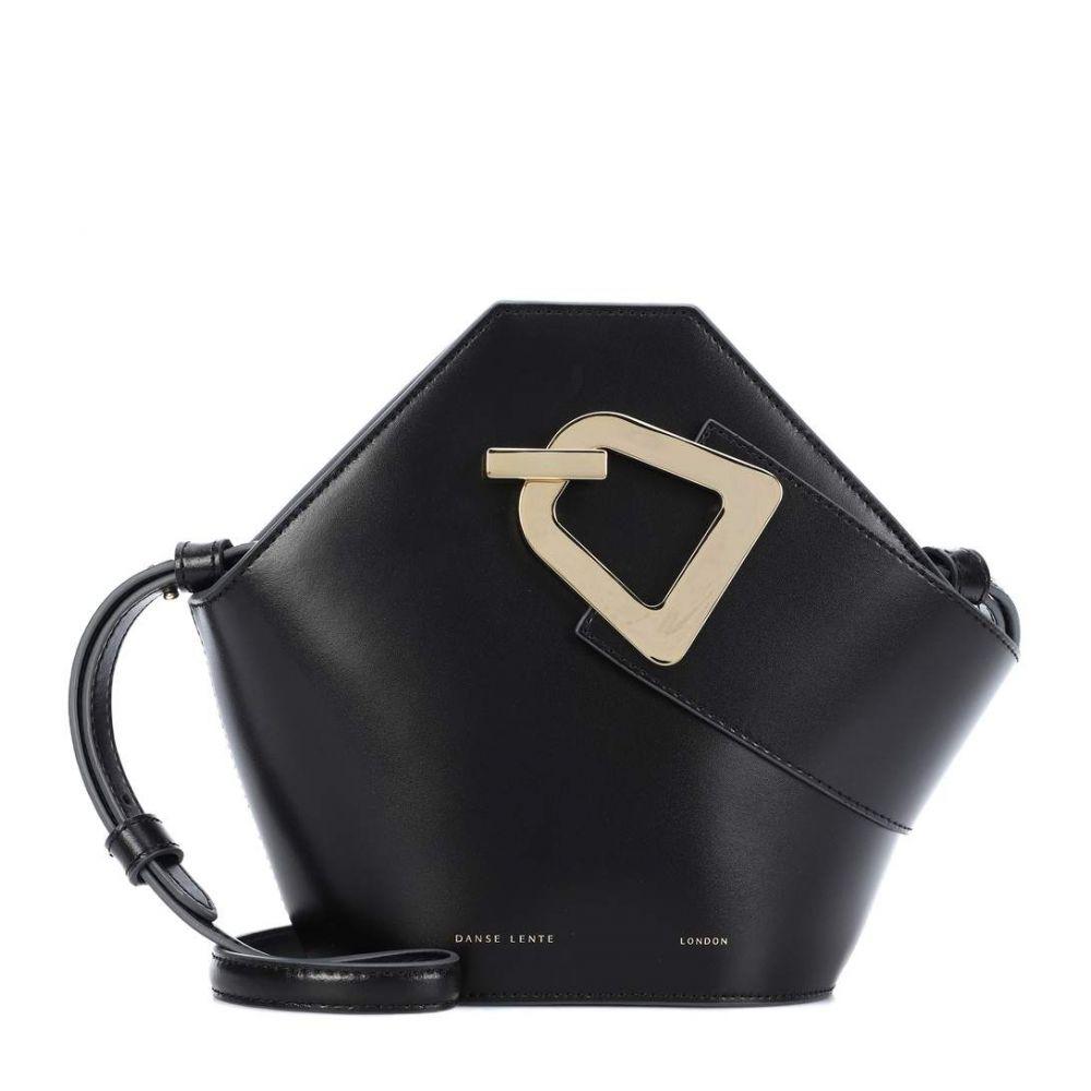 ダンスレンテ Danse Lente レディース バッグ【Mini Johnny leather bucket bag】Black