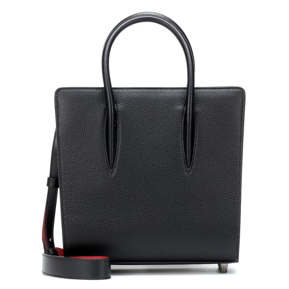 クリスチャン ルブタン Christian Louboutin レディース バッグ トートバッグ【Paloma Small leather tote】black