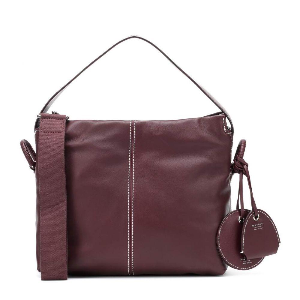 アクネ Acne ストゥディオズ Acne Studios レディース バッグ Studios ハンドバッグ handbag】Maroon【Minimal leather handbag】Maroon Red, メガネのミルック:f9e14cd8 --- sunward.msk.ru