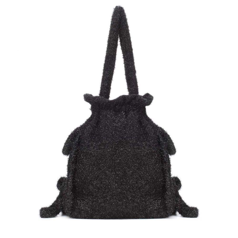 シモーネ ロシャ Simone Rocha レディース バッグ【Lame bucket bag】Black