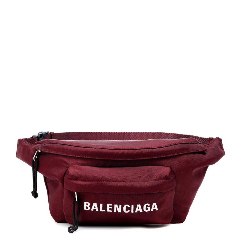 バレンシアガ Balenciaga レディース バッグ ボディバッグ・ウエストポーチ【Wheel belt bag】Rouge Carmin