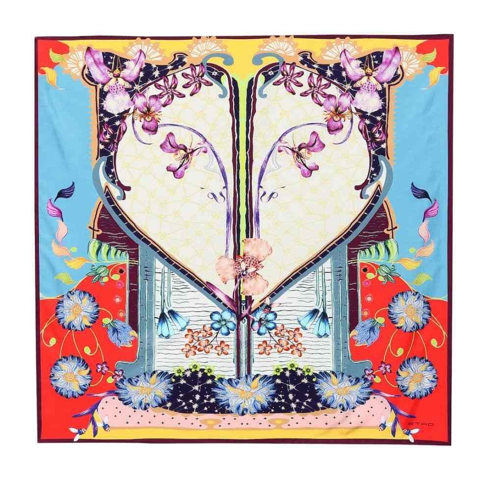エトロ Etro レディース マフラー・スカーフ・ストール【Printed silk scarf】