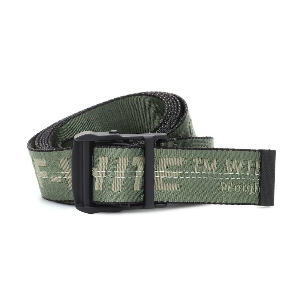 オフ-ホワイト Off-White レディース ベルト【Industrial belt】Military Green
