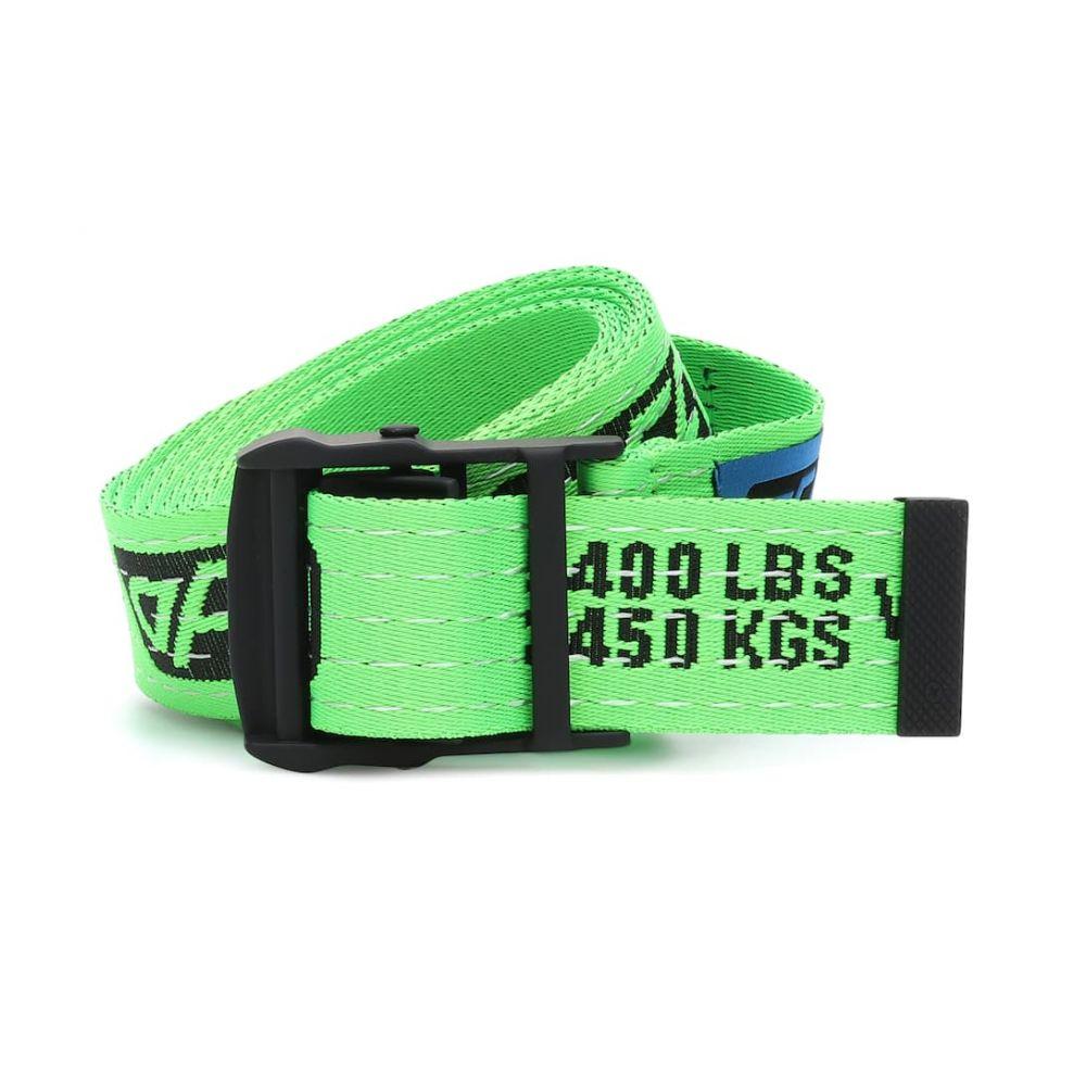 オフ-ホワイト Off-White レディース ベルト【Industrial belt】Light Green