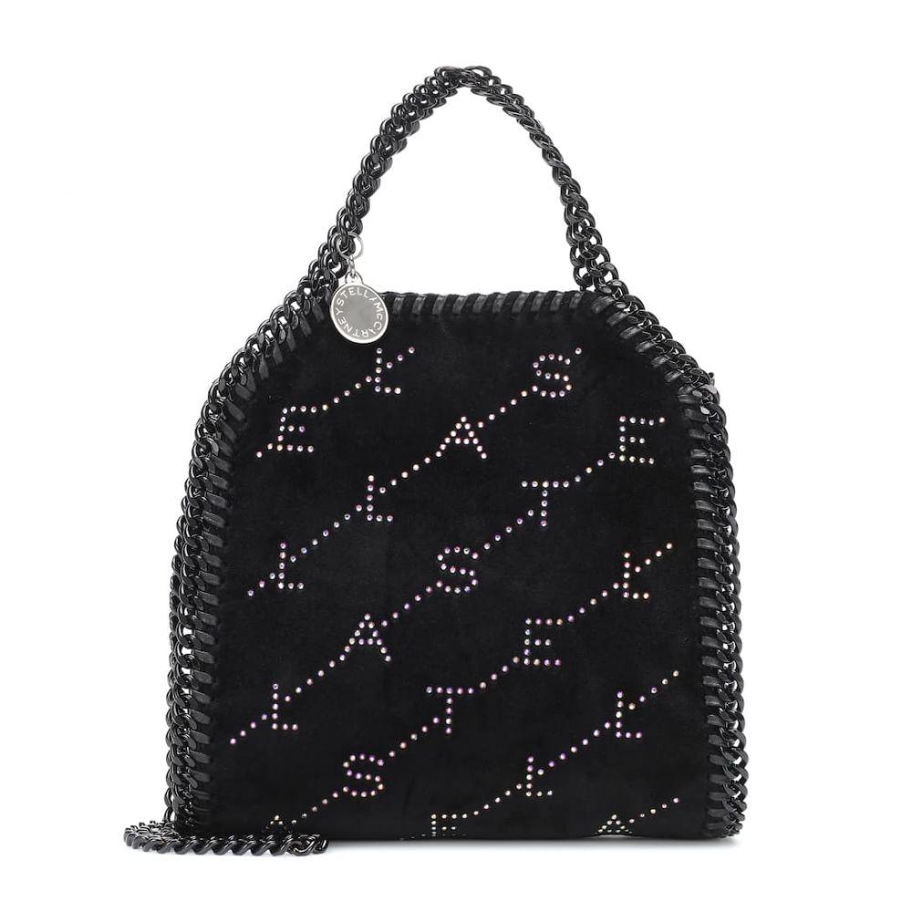 ステラ マッカートニー Stella McCartney レディース バッグ トートバッグ【Falabella Mini faux leather tote】Black