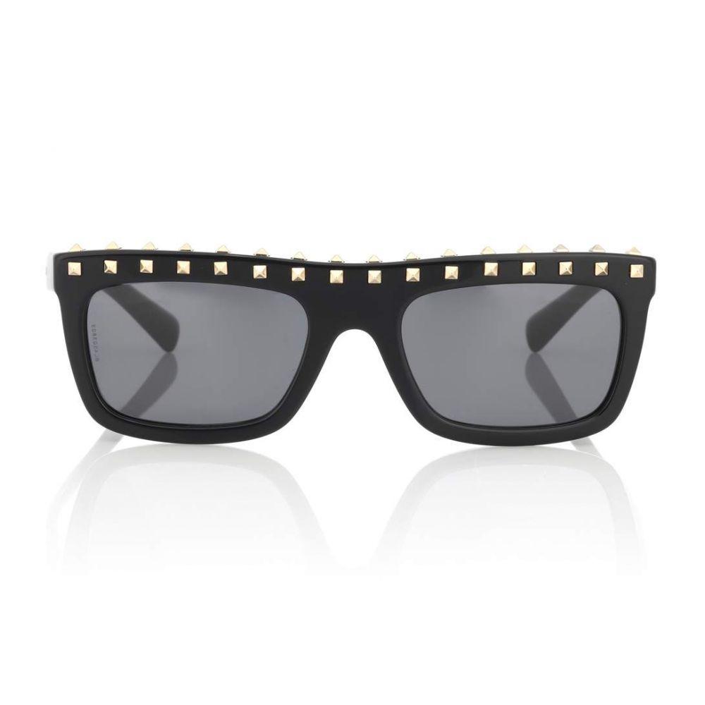 ヴァレンティノ Valentino レディース メガネ・サングラス【Studded acetate sunglasses】