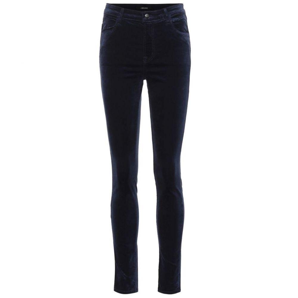 ジェイ ブランド J Brand レディース ボトムス・パンツ ジーンズ・デニム【Maria high-rise velvet skinny jeans】night out