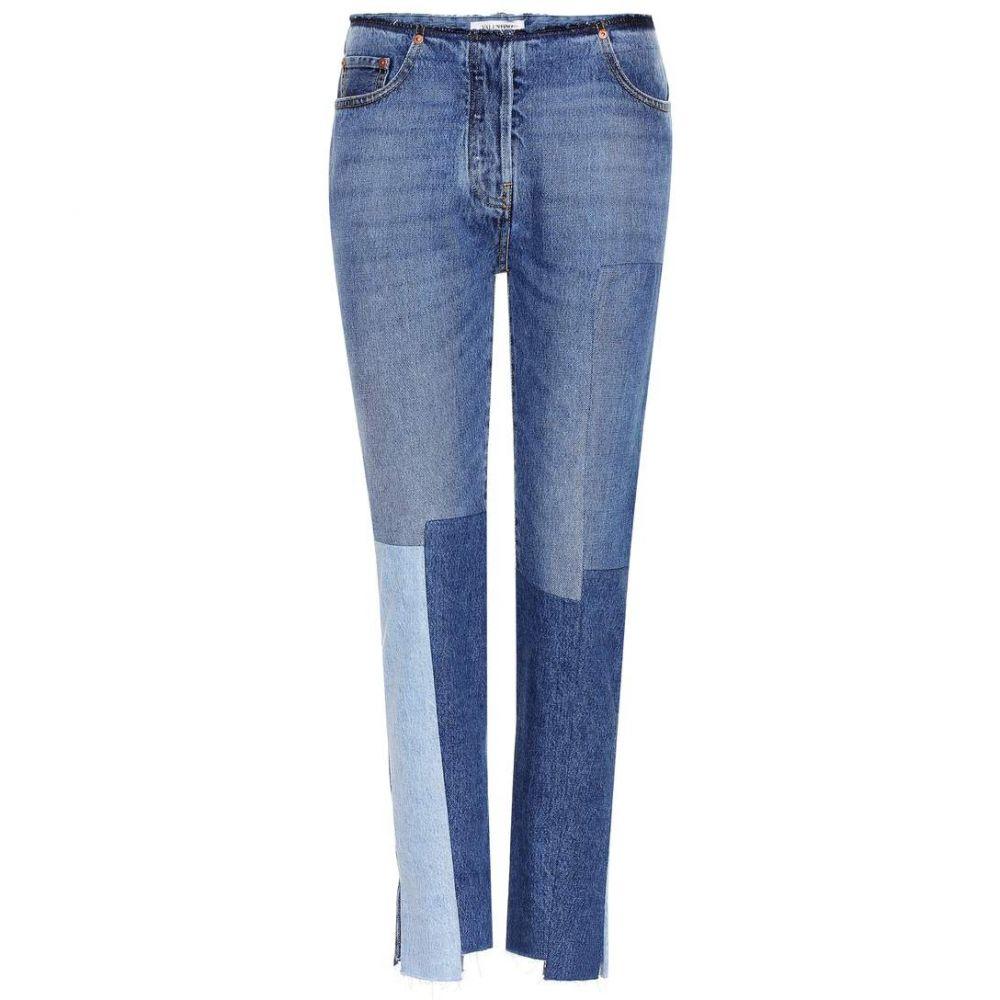 ヴァレンティノ Valentino レディース ボトムス・パンツ ジーンズ・デニム【Patchwork jeans】