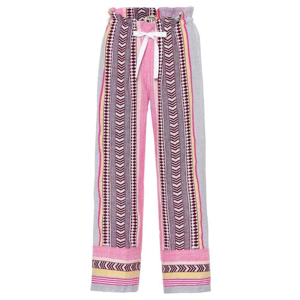 レムレム Lemlem レディース ボトムス・パンツ【Luchia cotton-blend pants】Berry