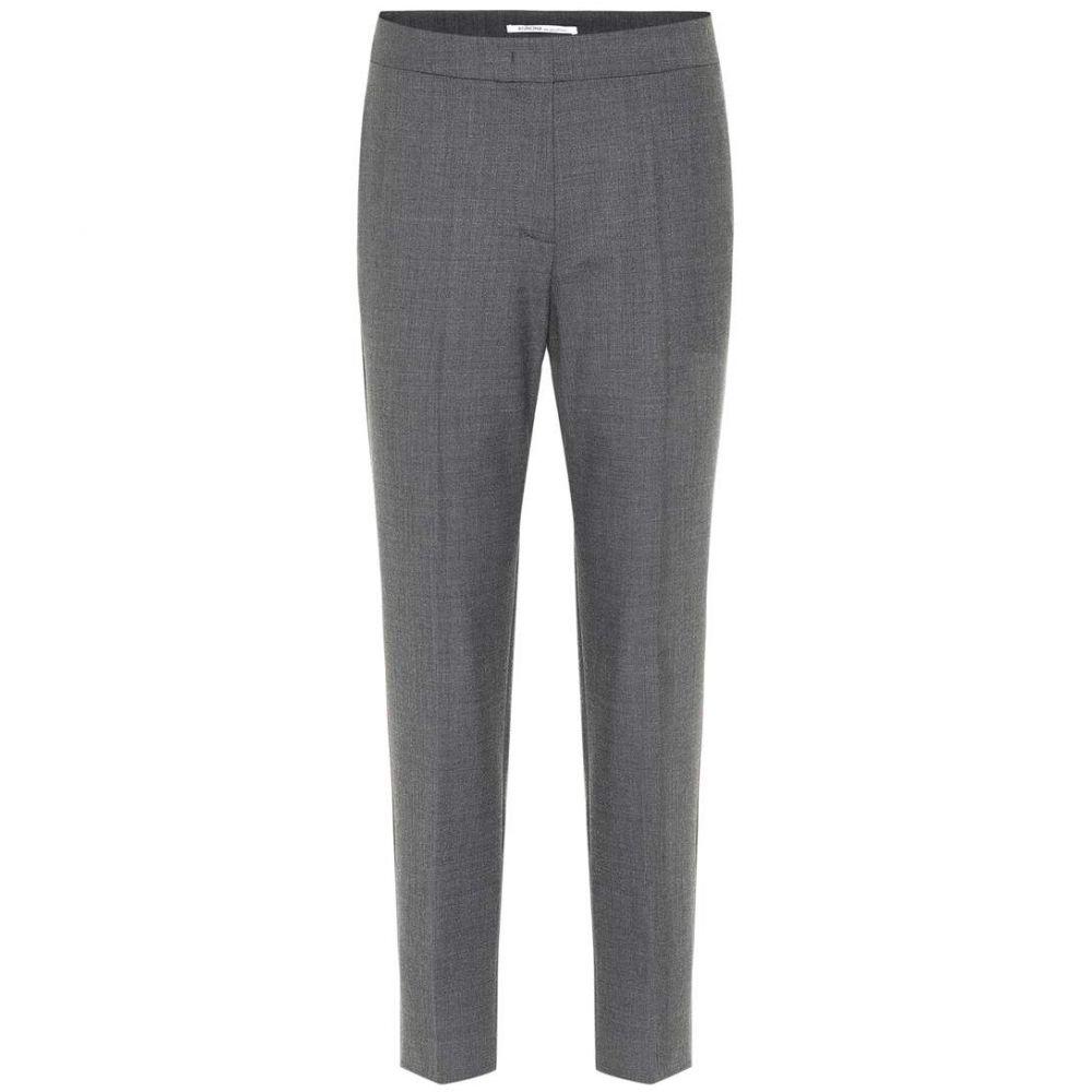 アニオナ Agnona レディース ボトムス・パンツ【Wool-blend pants】Grey