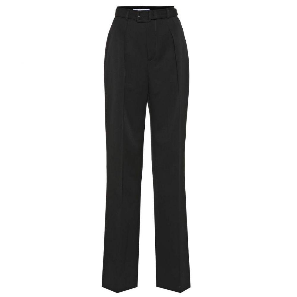 ジバンシー Givenchy レディース ボトムス・パンツ【Belted wool pants】black