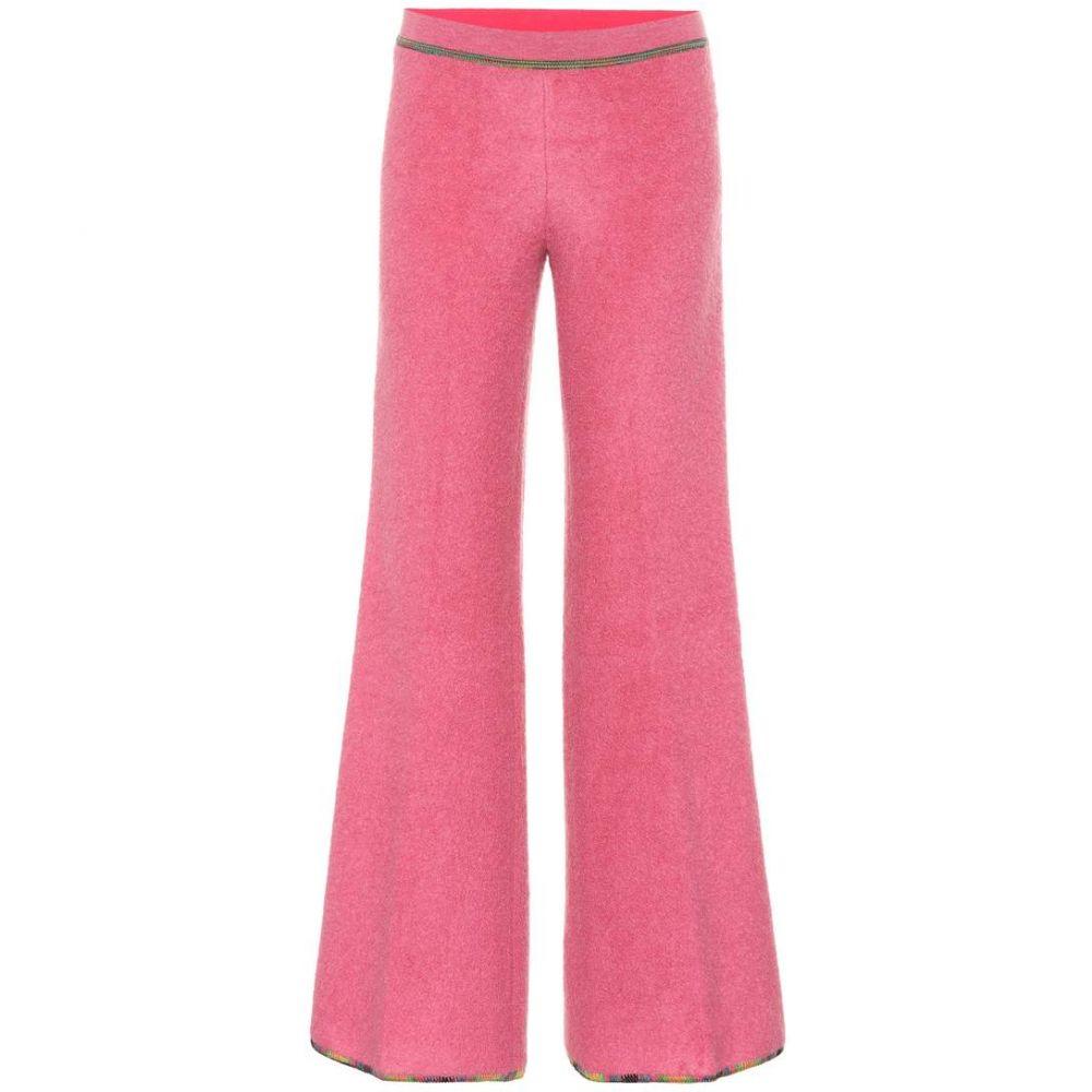 ミッソーニ Missoni レディース ボトムス・パンツ【Low-rise flared stretch-knit pants】