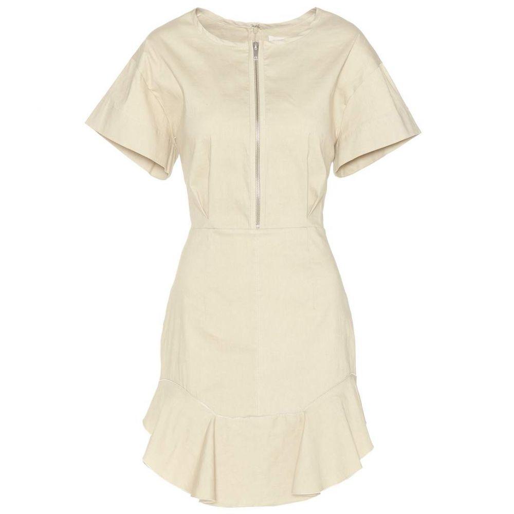 イザベル マラン Isabel Marant, Etoile レディース ワンピース・ドレス ワンピース【Neit cotton-blend dress】Ecru