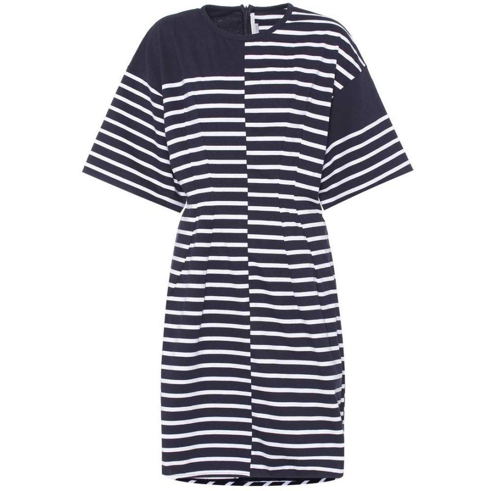 ステラ マッカートニー Stella McCartney レディース ワンピース・ドレス ワンピース【Striped cotton dress】Blue/White