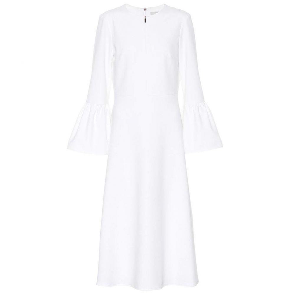 ティビ Tibi レディース ワンピース・ドレス ワンピース【Crepe midi dress】White