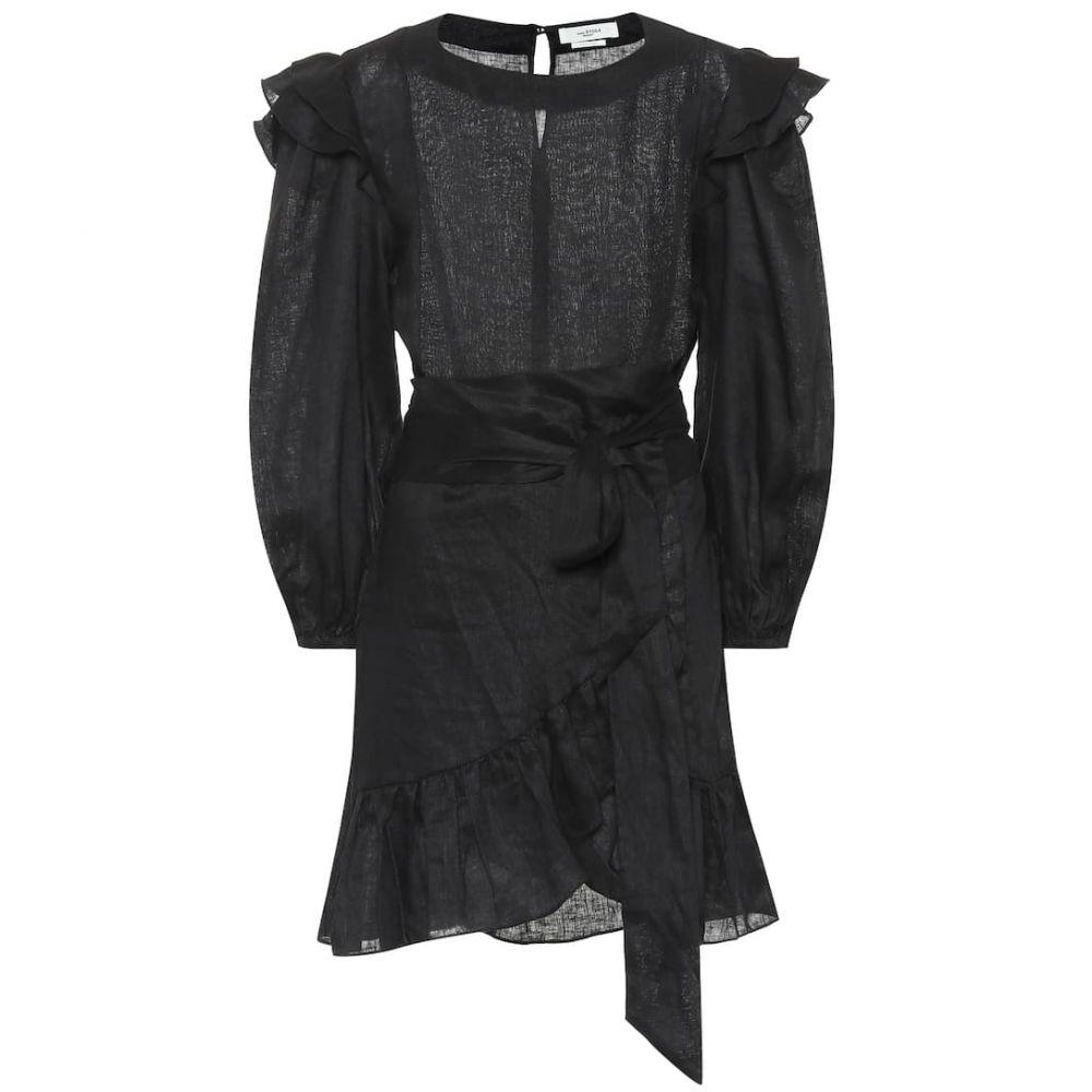 イザベル マラン Isabel Marant, Etoile レディース ワンピース・ドレス ワンピース【Telicia linen dress】black