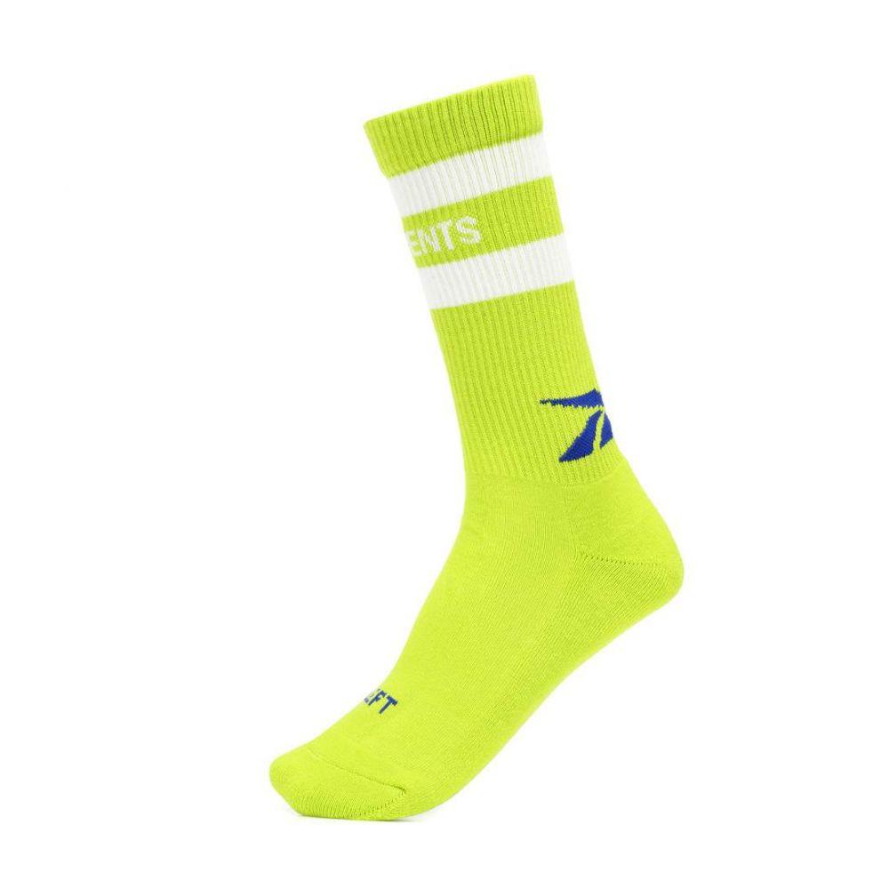 ヴェトモン Vetements レディース インナー・下着 ソックス【x Reebok cotton-blend socks】
