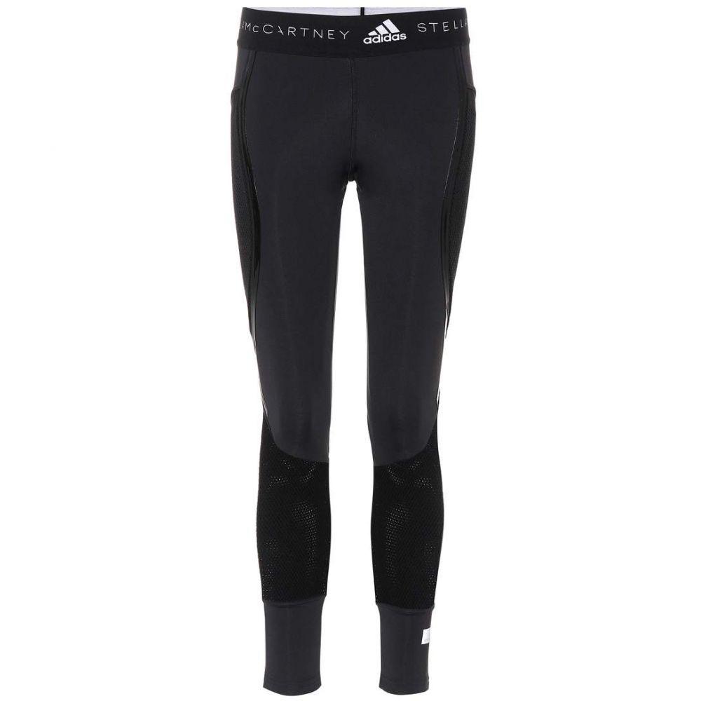 アディダス Adidas by Stella McCartney レディース インナー・下着 スパッツ・レギンス【Run Ultra flat-knit leggings】Black