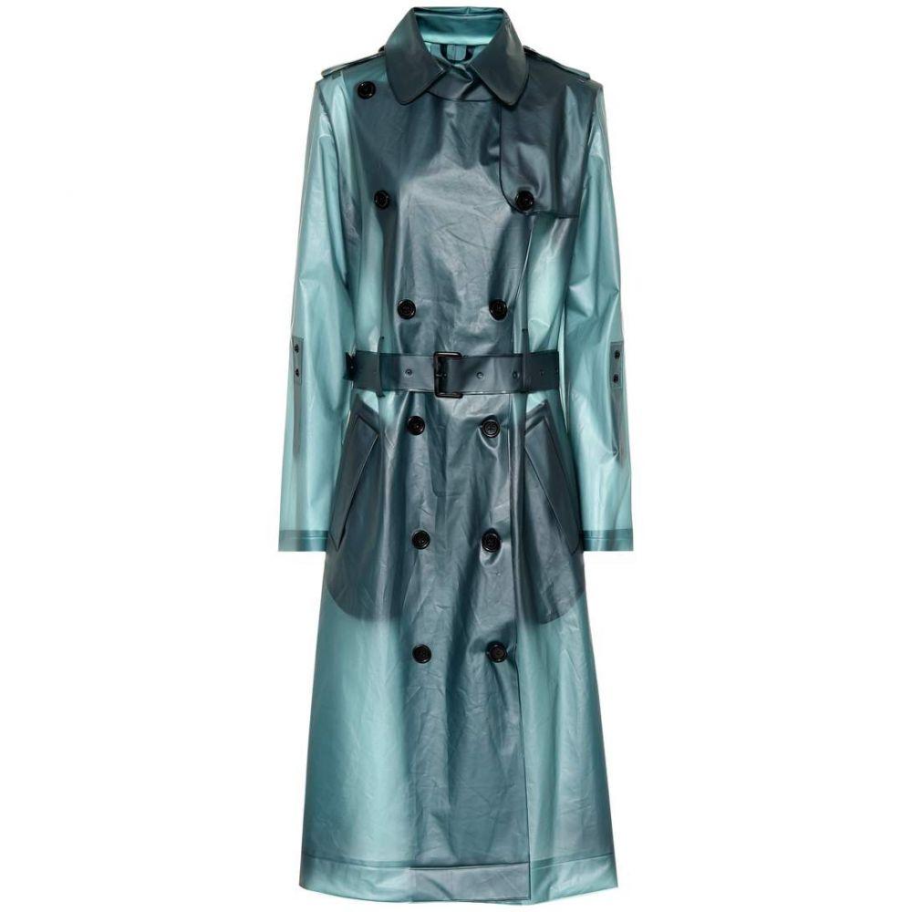 ドロシー シューマッハ Dorothee Schumacher レディース アウター レインコート【Techno Transparency raincoat】dim teal