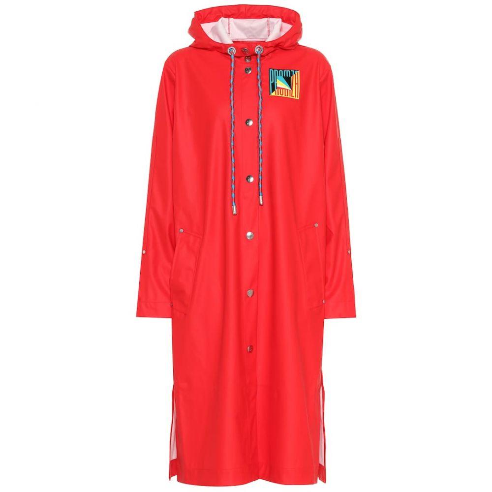 プロエンザ スクーラー Proenza Schouler レディース アウター レインコート【PSWL raincoat】Bright Red
