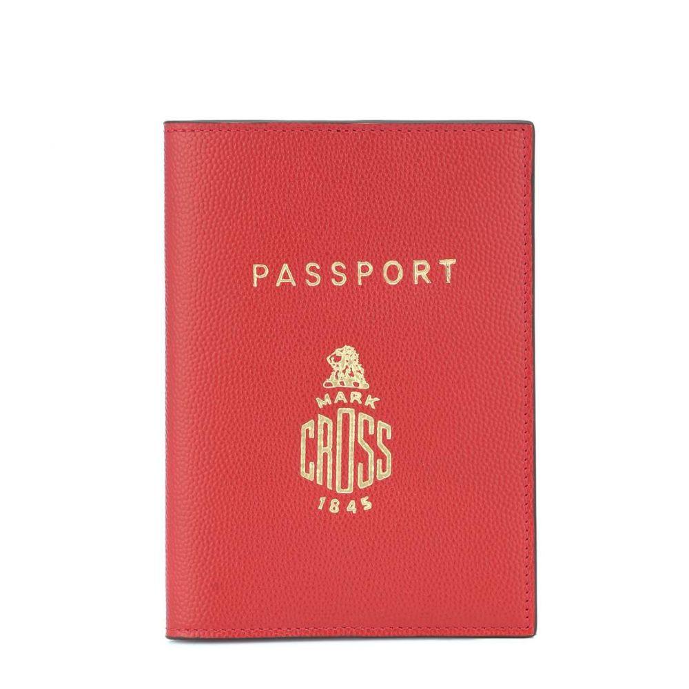 マーククロス Mark Cross レディース パスポートケース【Leather passport holder】