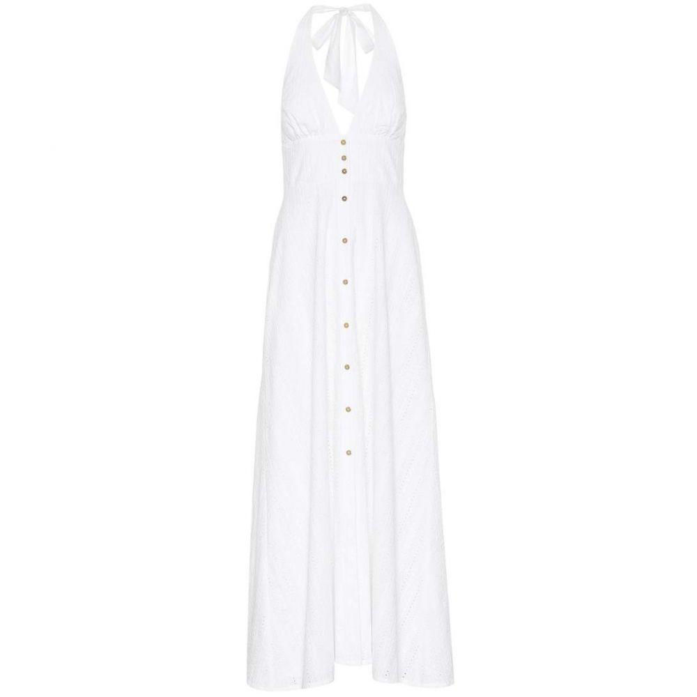 ハイジ クライン Heidi Klein レディース 水着・ビーチウェア ビーチウェア【Palermo cotton maxi dress】white - white