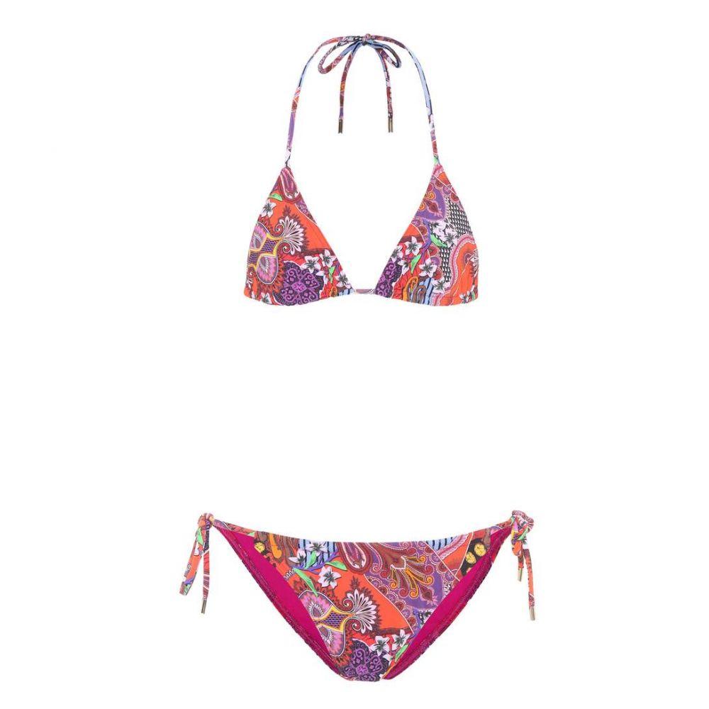 エトロ Etro レディース 水着・ビーチウェア 上下セット【Printed triangle bikini】Multicolor