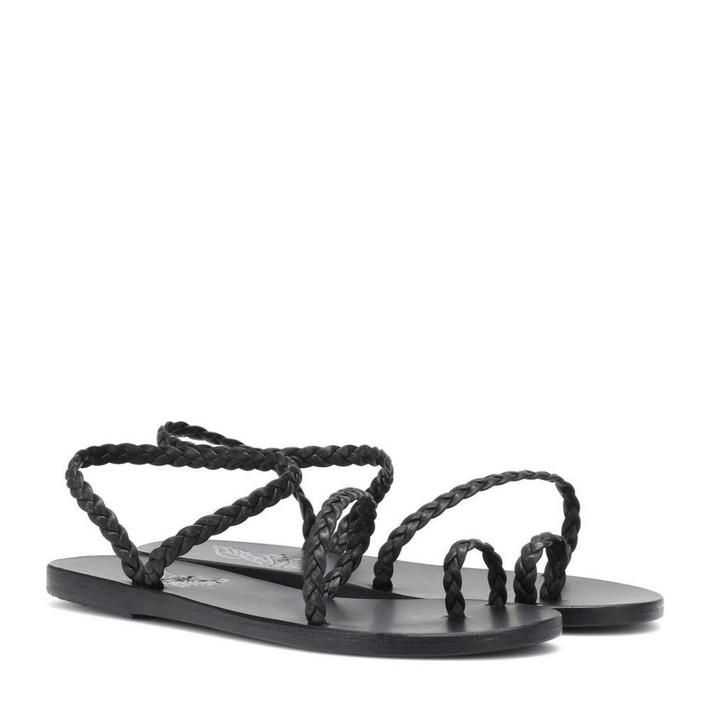 エンシェント グリーク サンダルズ Ancient Greek Sandals レディース シューズ・靴 サンダル・ミュール【Eleftheria leather sandals】Black