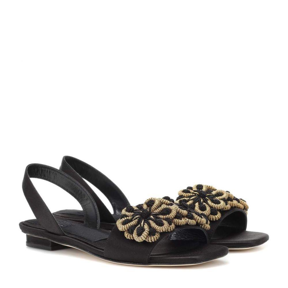 サナイ313 Sanayi 313 レディース シューズ・靴 サンダル・ミュール【Randa satin sandals】Black