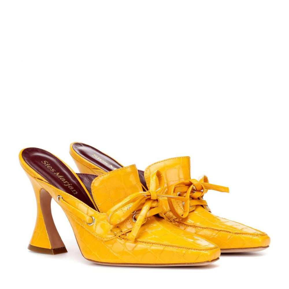 シエス マルジャン Sies Marjan レディース シューズ・靴 サンダル・ミュール【Remi 100 patent leather mules】SunFlower