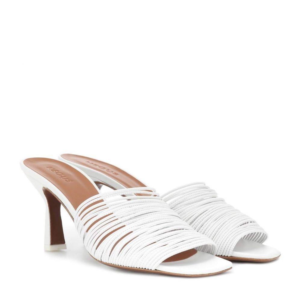 ネオアス Neous レディース シューズ・靴 サンダル・ミュール【Shom leather sandals】White