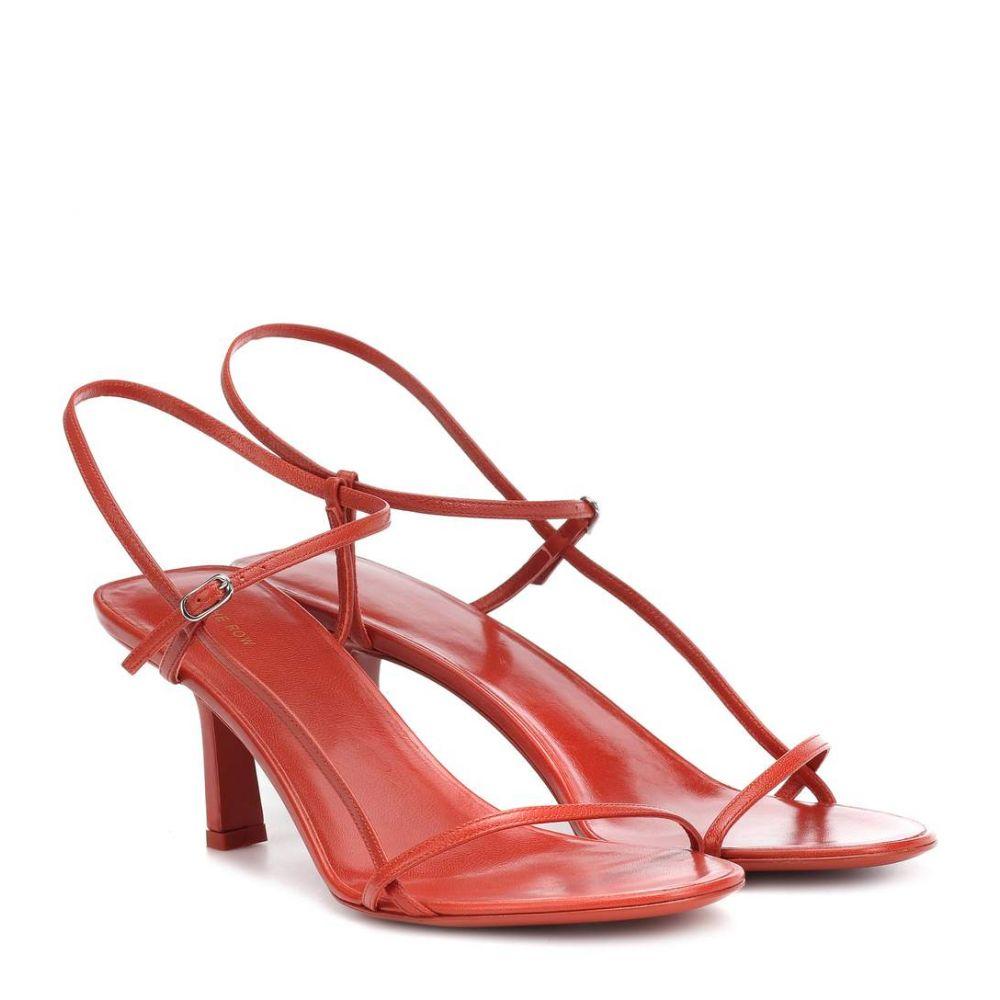 ザ ロウ The Row レディース シューズ・靴 サンダル・ミュール【Bare leather sandals】Brick
