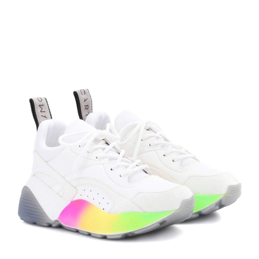 ステラ マッカートニー Stella McCartney レディース シューズ・靴 スニーカー【Eclypse sneakers】White/Multicolor