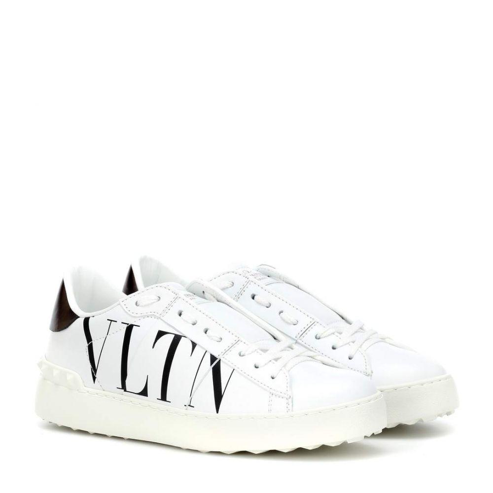 ヴァレンティノ Valentino レディース シューズ・靴 スニーカー【Garavani VLTN leather sneakers】White