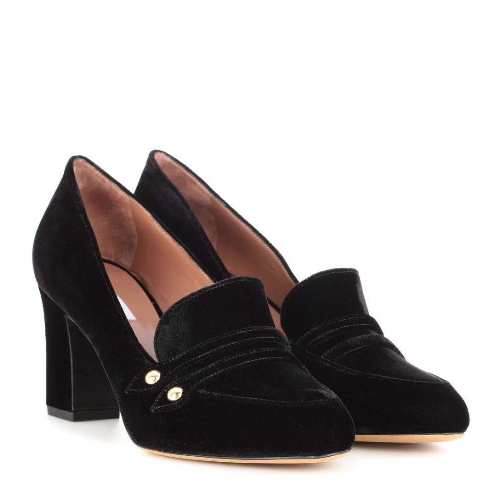 タビサ シモンズ Tabitha Simmons レディース シューズ・靴 パンプス【Maxwell velvet pumps】Black Velvet
