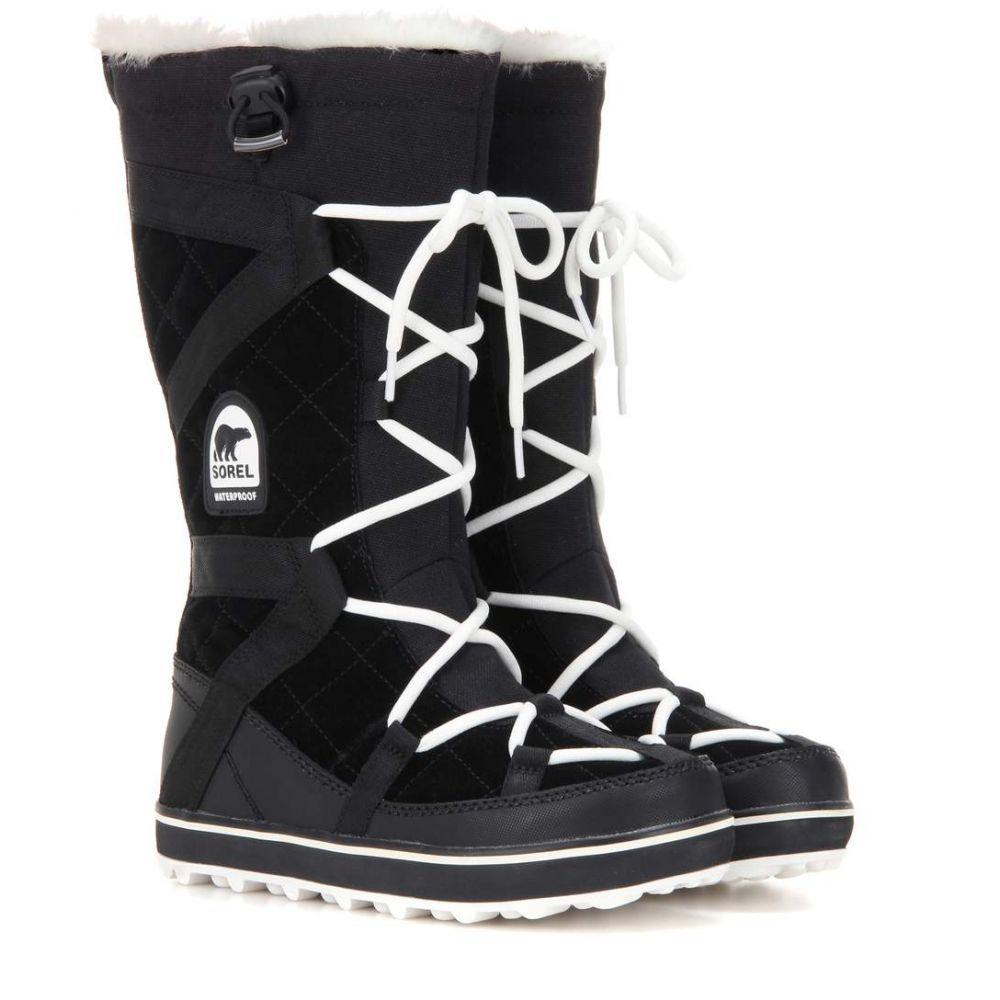 ソレル Sorel レディース シューズ・靴 ブーツ【Glacy Explorer suede boots】Black