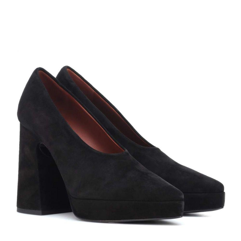 プロエンザ スクーラー Proenza Schouler レディース シューズ・靴 パンプス【Suede pumps】Black