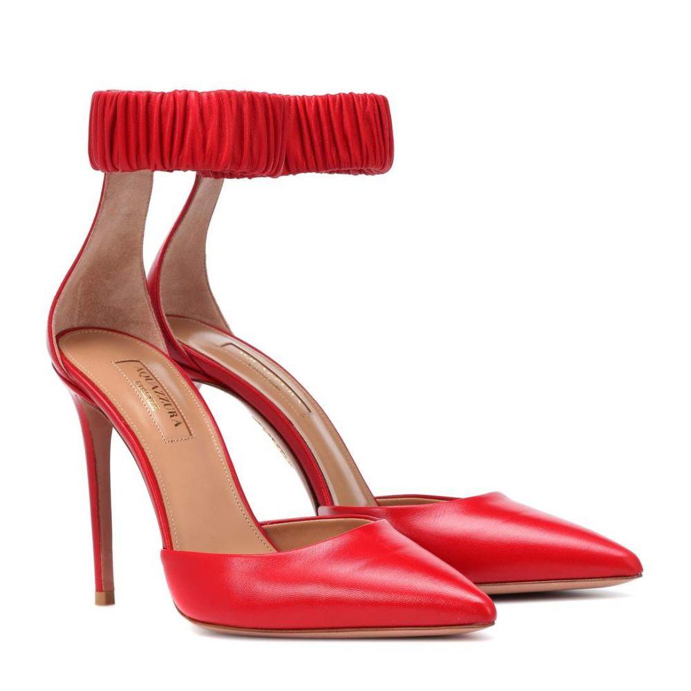 アクアズーラ Aquazzura レディース シューズ・靴 パンプス【Liberty 105 leather pumps】Carnation Red