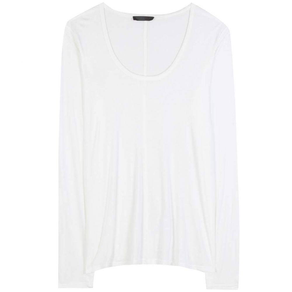 ザ ロウ The Row レディース トップス【Baxerton jersey top】White